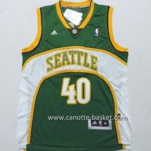 Maglie nba Seattle SuperSonics Shawn Kemp #40 verde