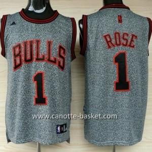 Maglie nba Chicago Bulls Derrick Rose #1 Statico Fashion