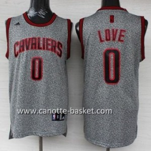Maglie nba Cleveland Cavaliers Kevin Love #0 Statico Fashion