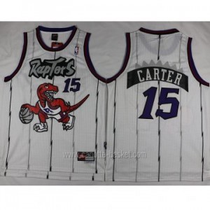 Maglie nba Toronto Raptors Anthony Bennett #15 bianco
