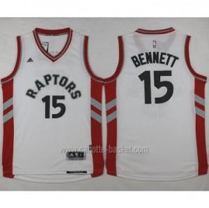 Maglie nba Toronto Raptors Anthony Bennett #15 bianco 2016 stagione