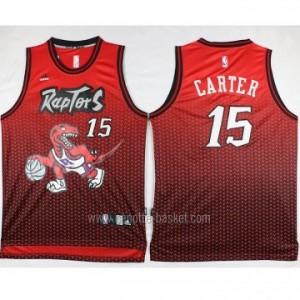 Maglie nba Toronto Raptors Anthony Bennett #15 deriva rosso