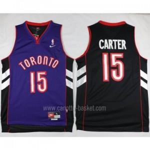 Maglie nba Toronto Raptors Anthony Bennett #15 nero porpora