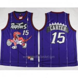 Maglie nba Toronto Raptors Anthony Bennett #15 porpora