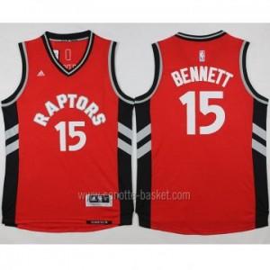 Maglie nba Toronto Raptors Anthony Bennett #15 rosso 2016 stagione