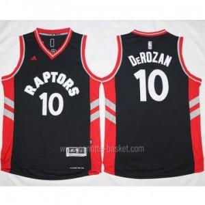 Maglie nba Toronto Raptors DeMar DeRozan #10 nero 2016 stagione