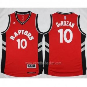 Maglie nba Toronto Raptors DeMar DeRozan #10 rosso 2016 stagione