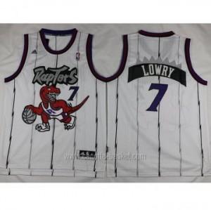 Maglie nba Toronto Raptors Kyle Lowry #7 bianco