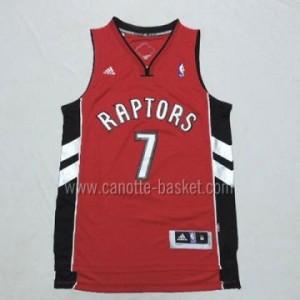 Maglie nba Toronto Raptors Kyle Lowry #7 rosso nuovi tessuti