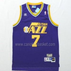 Maglie nba Utah Jazz PISTOL PETE MARAVICH #7 porpora