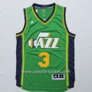 Maglie nba Utah Jazz Trey Burke #3 verde