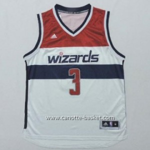 Maglie nba Washington Wizards Bradley Beal #3 bianco