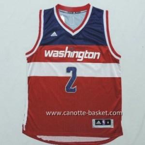 Maglie nba Washington Wizards John Wall #2 rosso
