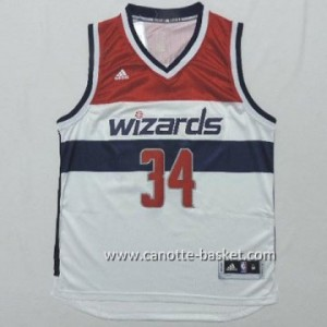 Maglie nba Washington Wizards Paul Pierce #34 bianco