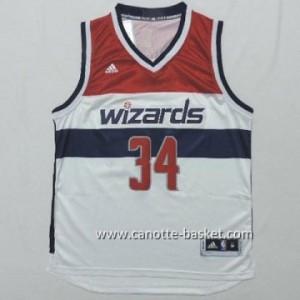 Maglie nba Washington Wizards Paul Pierce #34 bianco