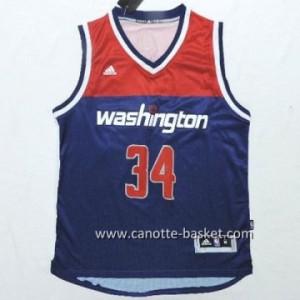 Maglie nba Washington Wizards Paul Pierce #34 blu marino