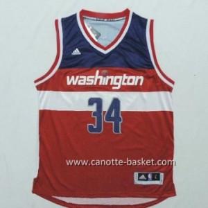 Maglie nba Washington Wizards Paul Pierce #34 rosso