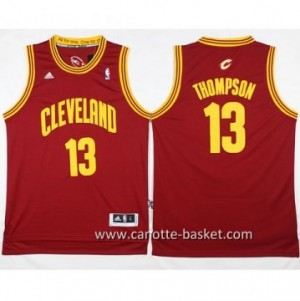 Maglie nba Cleveland Cavalier Tristan Thompson #13 rosso