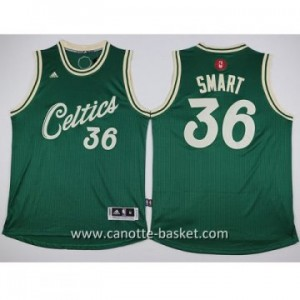 Maglie nba bambino Boston Celtics Marcus Smart #36 2016 Natale