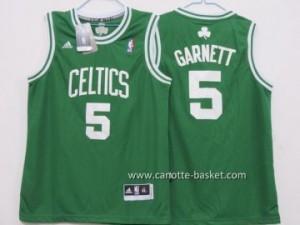 Maglie nba bambino Boston Celtics Kevin Garnett #5 verde