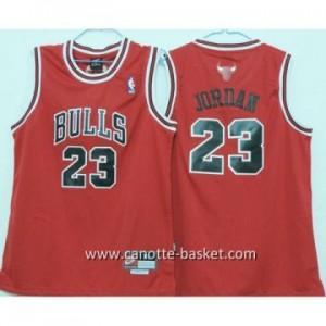 Maglie nba bambino Chicago Bulls Michael Jordan #23 rosso