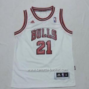 Maglie nba bambino Chicago Bulls Jimmy Butler #21 bianco