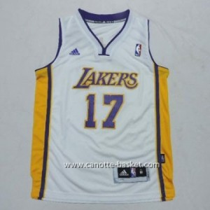 Maglie nba bambino Los Angeles Lakers Jeremy Lin #17 bianco