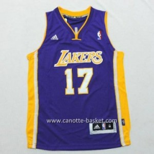 Maglie nba bambino Los Angeles Lakers Jeremy Lin #17 porpora