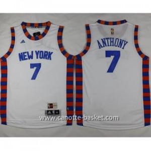 Maglie nba bambino New York Knicks Carmelo Anthony #7 bianco