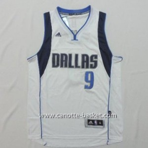 Maglie nba Dallas Mavericks Rajon Rondo #9 bianco