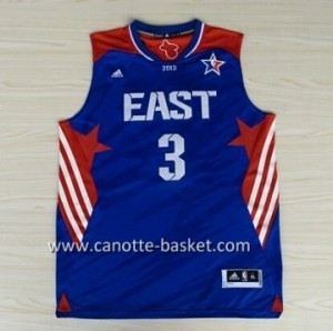 Maglie 2013 All-Star Dwyane Wade #3 blu