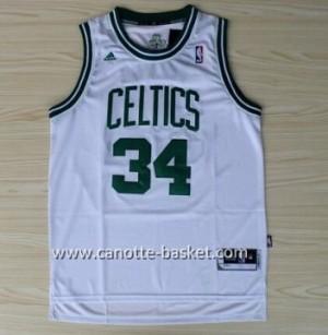 Maglie nba Boston Celtics Paul Pierce #34 bianco