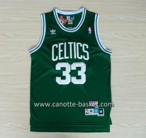 Maglie nba Boston Celtics Larry Bird #33 verde scuro