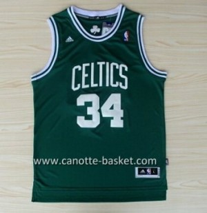Maglie nba Boston Celtics Paul Pierce #34 verde
