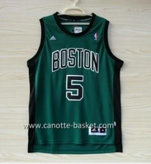 Maglie nba Boston Celtics Kevin Garnett #5 nero Word