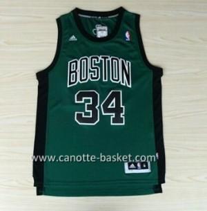 Maglie nba Boston Celtics Paul Pierce #34 nero Word