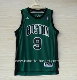 Maglie nba Boston Celtics Rajon Rondo #9 verde nero Word
