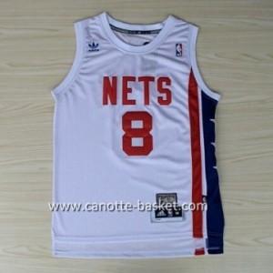 Maglie nba Brooklyn Nets ABA Deron Williams #8 bianco