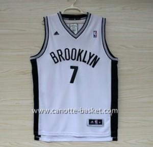 Maglie nba Brooklyn Nets Larry Johnson #7 bianco