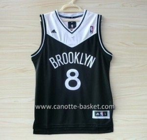 Maglie nba Brooklyn Nets Deron Williams #8 nero