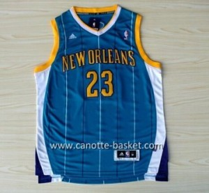 Maglie nba Charlotte Hornet Anthony Davis #23 blu