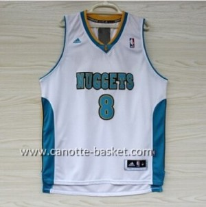 Maglie nba Denver Nuggets Danilo Gallinari #8 bianco