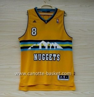 Maglie nba Denver Nuggets Danilo Gallinari #8 giallo