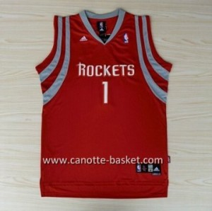 Maglie nba Houston Rockets Tracy McGrady #1 rosso