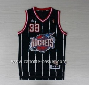 Maglie nba Houston Rockets Scottie Pippen #33 blu