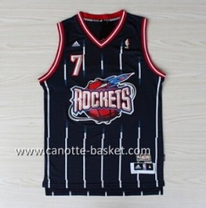 Maglie nba Houston Rockets Jeremy Lin #7 Retro blu