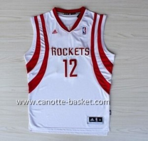 Maglie nba Houston Rockets Dwight Howard #12 bianco