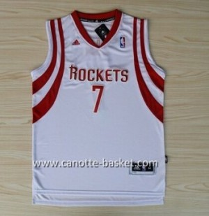 Maglie nba Houston Rockets Jeremy Lin #7 Retro bianco