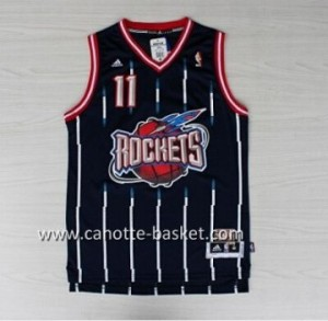 Maglie nba Houston Rockets Yao Ming #11 blu Retro