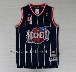 Maglie nba Houston Rockets Charles Barkley #4 blu
